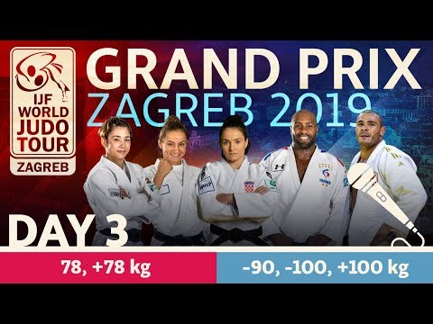 Judo Grand-Prix Zagreb 2019: Day 3