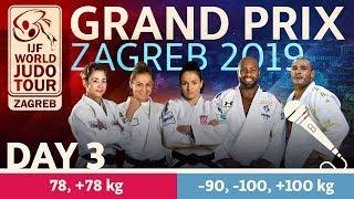 Judo Grand-Prix Zagreb 2019: Day 3