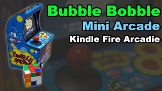 Mini Arcade Machine - Bubble Bobble (Arcadie)