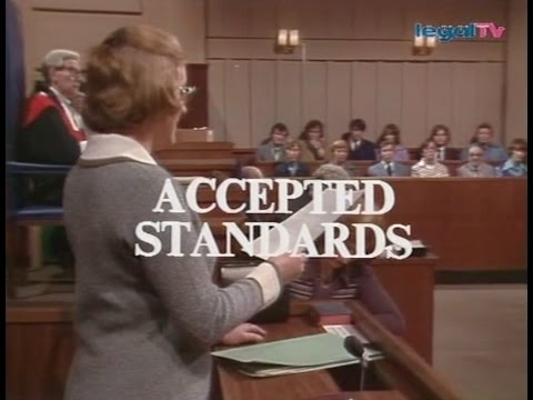 Crown Court - Accepted Standards (1976)