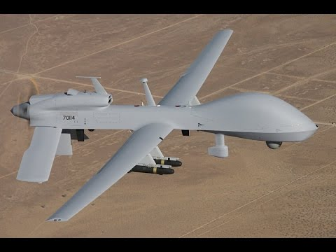 Hellfire Missile Drone
