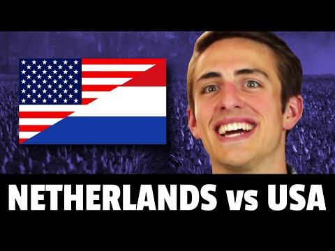American REACTS to Dutch Lifestyle  The Netherlands Is Amazing