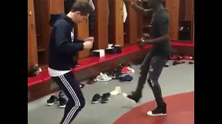 ERIC BAILLY GOT MOVES: Hilarious Dance Compilation ft Herrera and Mata plus solo act