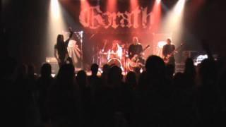 Gorath - Sworn to the Dark (cover Watain, Eindhoven 2011)