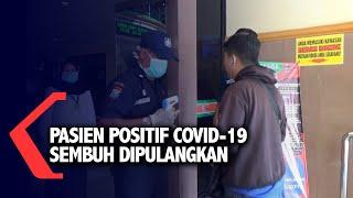 1 Pasien Positif Covid-19 Sembuh Dipulangkan