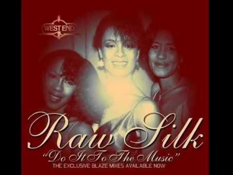 RAW SILK Do it to the music 1982 12 original mix