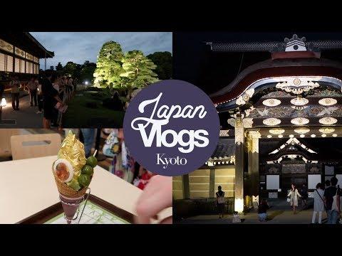 Kyoto: Nijo Castle Evening Light Up Guide! Japan Summer 2017