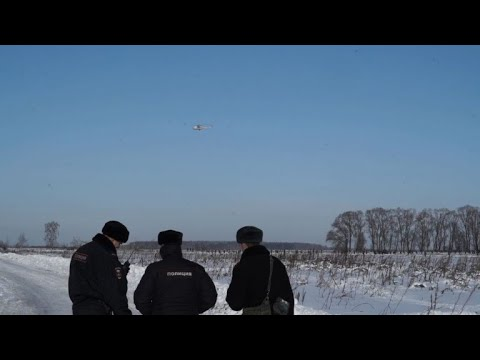 Witness describe seeing 'fiery ball' at Russian plane crash site