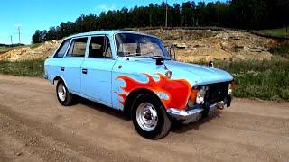Первый выезд/учу водить машину , покрасили крыло -лютый тюнинг / комби-7 серия покатушки .