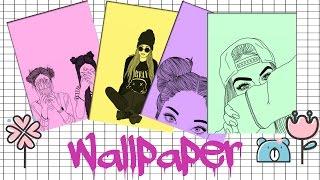 Como Hacer Tu Propio Wallpaper Outline By Gaby Edits