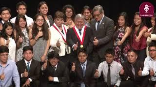 Tema:Programa Sanmarquinos para el Perú y el Mundo