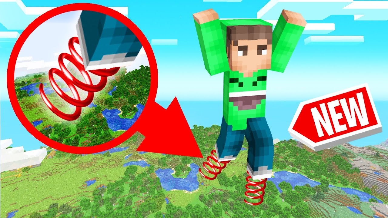 MINECRAFT But EVERY JUMP Is 1000 FEET! (Dangerous) thumbnail