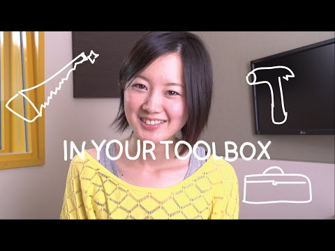 Weekly Japanese Words with Risa - In Your Toolbox (Việt Sub)