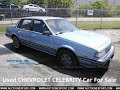 Used CHEVROLET CELEBRITY For Sale in USA, Worldwide Shipping
