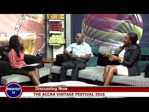 ACCRA VINTAGE FESTIVAL ON eTV GHANA'S BREAKFAST SHOW - 7th JUNE  2016