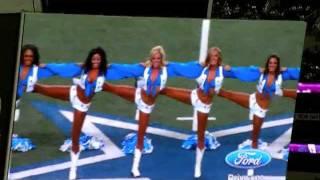 Dallas Cowboys Cheerleaders November 6 2011