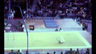 Munich 1972 GYMNASTICS Floor Sawao Kato (Amateur Footage)
