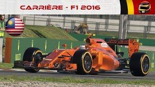 F1 2016 - Carrière #37 : Averses tropicales, qui va émerger ? [FR ᴴᴰ]