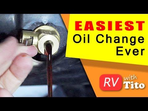 EASIEST Oil Change - No Tools And No Mess - Fumoto Drain Valve