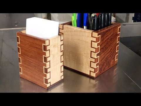 Making Double-Double Box Joints