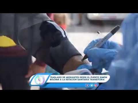 IDS acompaña traslado de migrantes al Centro de Atención Sanitaria Tienditas (CAST)