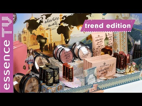 DROGERIE NEUHEITEN: essence trend edition adventure awaits