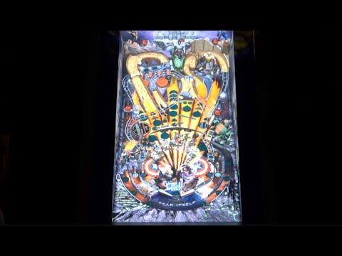 Fear Itself Gameplay | Arcade1Up Marvel Pinball from Original Console Gamer