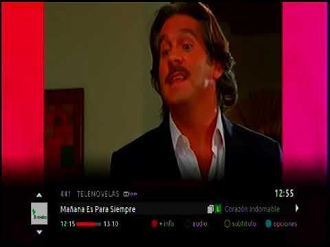 Claro TV Digital Superior Bogotá 14/11/2018 (Señales estándar 1 de 2)
