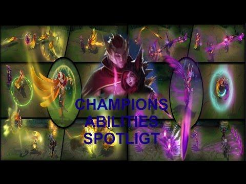 Xayah and Rakan Champion Abilities Spotlight By Kraze
