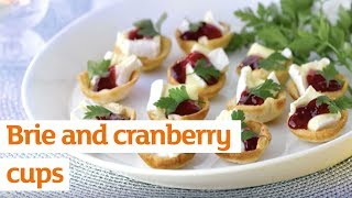 Save - Brie & Cranberry Cups - Christmas Days At Sainsbury's
