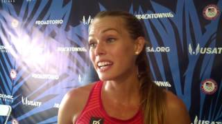 Colleen Quigley talks about giving up a modelling career to try to be an Olympian