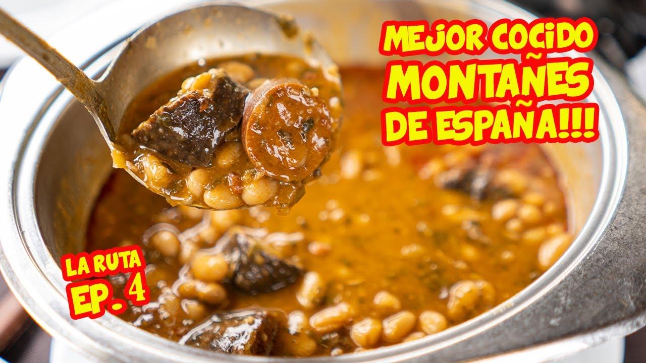 El MEJOR COCIDO MONTAÑES de ESPAÑA en EL MEJOR RESTAURANTE DE LA RUTA - Ep. 4 Ruta Gastronómica