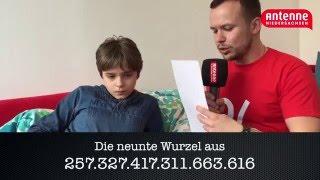 Wenzel (13) - Weltmeister im Kopfrechnen