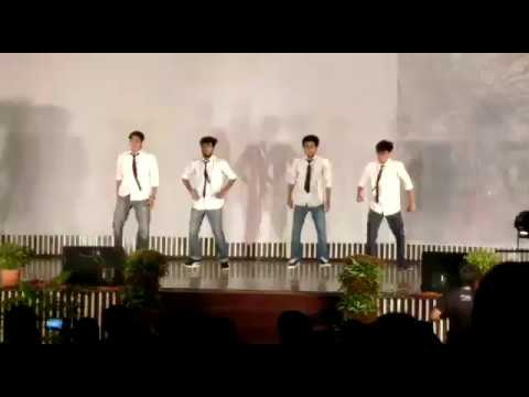 IIT ROORKEE shape of you guys dance performance in freshers party 2017