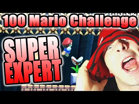 YELLING DOESN'T WORK ~ Super Mario Maker [100 MARIO CHALLENGE]
