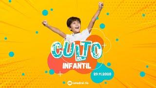 Culto Infantil | Igreja Presbiteriana do Rio | 29.11.2020