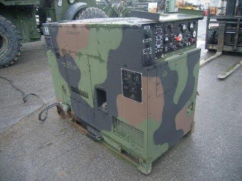 2010 DRS Fermont MEP-804B Diesel Engine Generator Set on GovLiquidation com