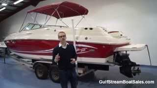 Rinker 282 Captiva Cuddy For Sale UK -- Review & Water Test by GulfStream Boat Sales