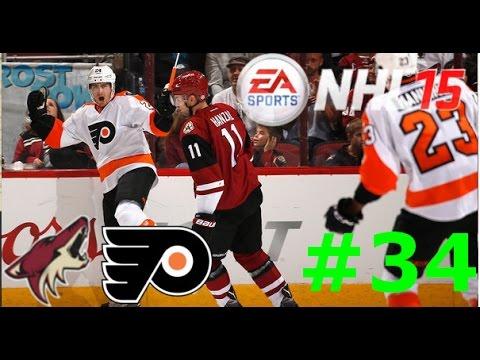 NHL 15 - #34: vs. Philadelphia Flyers [Let's Play] [GER]
