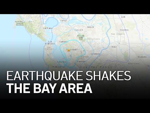 3.9 Magnitude Earthquake Rattles the East Bay