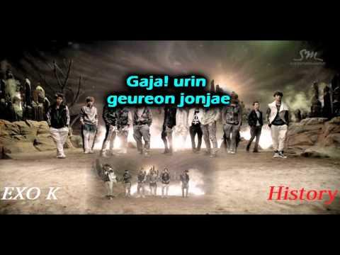 History - EXO-K (Karaoke/Instrumental)