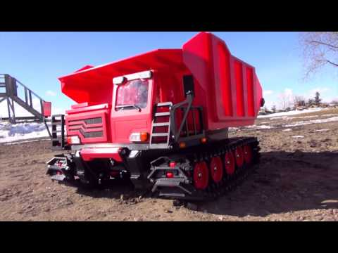 The WORLDS FiRST Fully 3D Printed Radio Control 1/12th scale TRACKED DUMP TRUCK! Spyker KAT