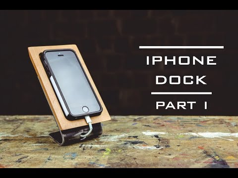 iPhone dock DIY, part I