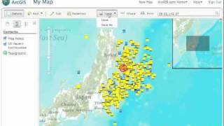 Fun with GIS #77: ArcGIS Online and Japan's Quakes