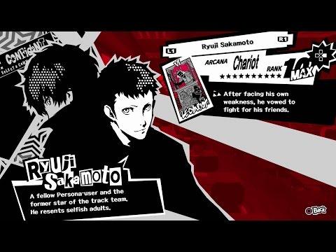 Persona 5 - Ryuji (Chariot) Confidant [All Ranks]