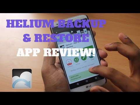 Helium Backup Without Root - Must Have App Review