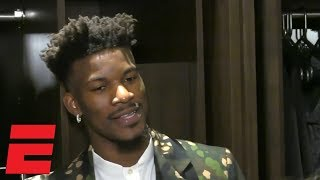 Jimmy Butler Says That He 'loves' When Fans Boo Him | Nba Interview