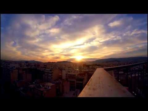 GOPRO Timelapse Athens Greece Colorful Sunrise [HD]