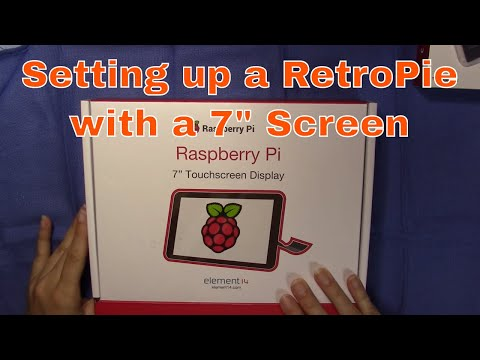 "Raspberry Pi 3 setup with 7"" screen"
