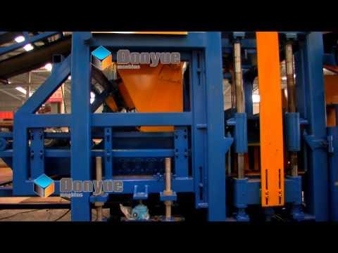 Full automatic color paving block machine qt10 15